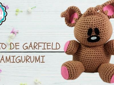 ????COMO MONTAR EL OSITO DE GARFIELD AMIGURUMI - CROCHET ????????