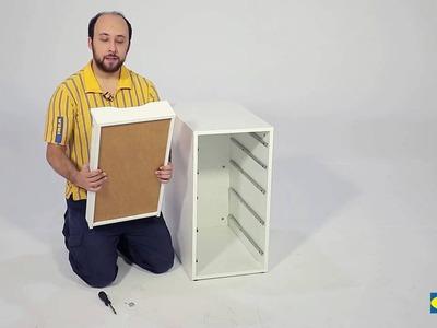 Cómo montar la cajonera ALEX - IKEA