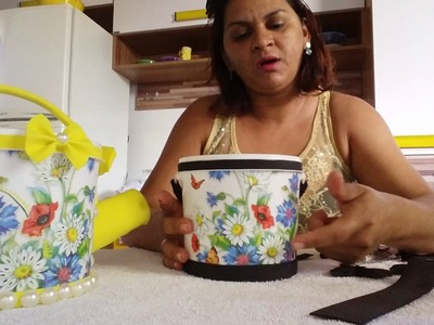 Como reciclar potes de creme
