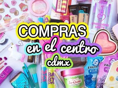 COMPRAS CENTRO CDMX  I plaza de los chinos, tienda de Don Ángel y más!