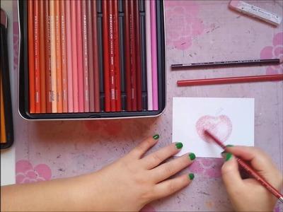 """Conociendo el material: """"Lápices de colores Prismacolor"""""""