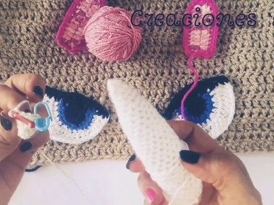 Cuerno de  Unicornio  a Crochet