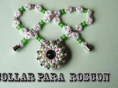 DIY - Collar para roscón. Pulsera.DIY - Thread necklace. Bracelet