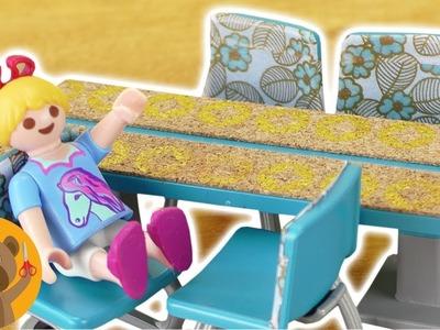 DIY Playmobil rediseñar los muebles del comedor. NUEVO comedor para la familia Pérez