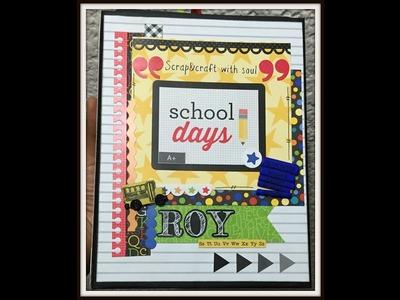 Doodlebug Back to School Mini Album