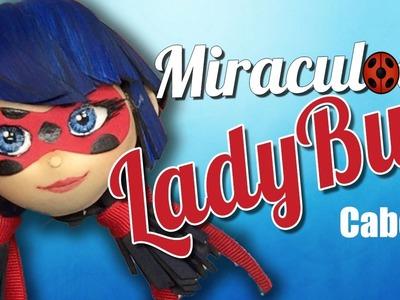 Fofucha Miraculous LadyBug cabello (hair)