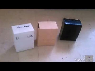 Fuera de Linea - Como hacer una Deck-box