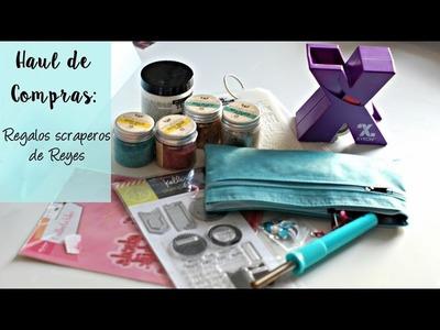 HAUL Scrapbooking: regalos de Reyes