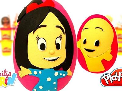 Huevos Sorpresa de La Familia Telerín en Español de Plastilina Play Doh