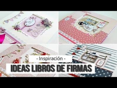 IDEAS PARA LIBROS DE FIRMAS DE COMUNION - INSPIRACION | LLUNA NOVA SCRAP