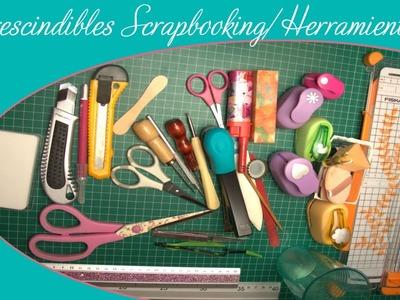 Imprescindibles para scrapbooking herramientas
