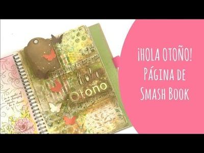 ¡SMASH BOOK! Página con muchas capas de principio a fin. #elretodeElena
