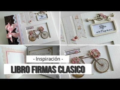 LIBRO DE FIRMAS COMUNION NIÑA - INSPIRACION   LLUNA NOVA SCRAP
