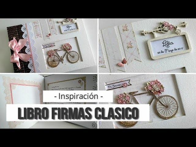 LIBRO DE FIRMAS COMUNION NIÑA - INSPIRACION | LLUNA NOVA SCRAP