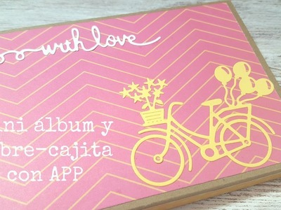"Mini álbum y ""sobre-cajita"" | usando APP????"