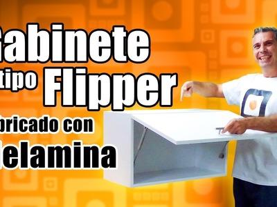 Mueble de melamina para cocina - Gabinete Flipper