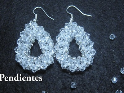 # - Pendientes o aretes para una novia# - Earrings or earrings for a bride
