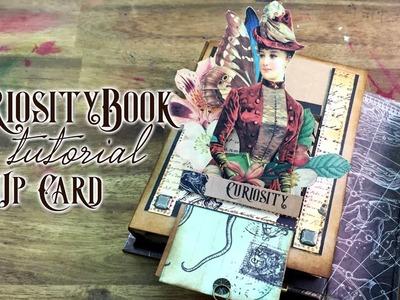 Pop Up Cart tutorial - Curiosity book 4 de 4