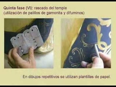 Proceso de estofado de la Inmaculada Concepción de Alcalá de Guadaíra (Sevilla)