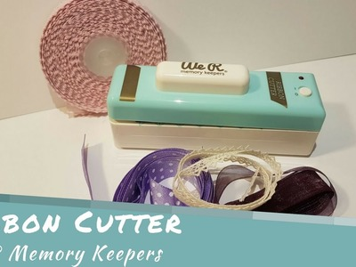 Ribbon Cutter We R Memory Keepers