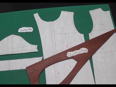 Transformación de a blusa escolar  2° parte clase # 87