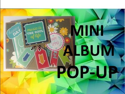 TUTORIAL ALBUM CON ESTRUCTURA  POP UP