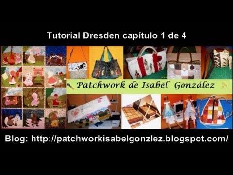 Tutorial Dresden patchwork 1 de 4