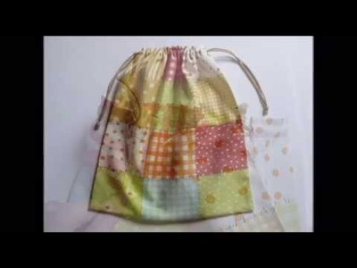 Tutorial para coser una bolsa básica