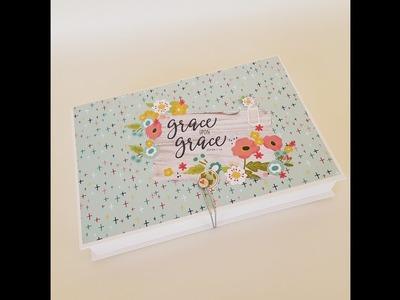Tutorial Scrap. ¿Cómo hacer una caja fácil, económica y bonita, para entregar mis proyectos?