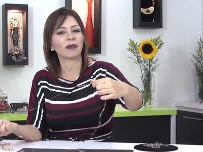 ZARCILLOS DE ESFERAS DE CRISTAL PARTE 1