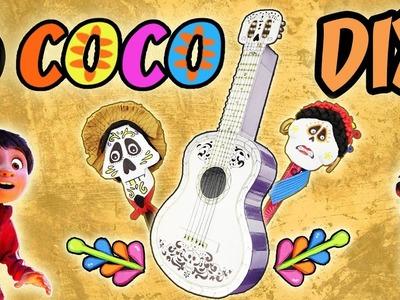 5 DIY COCO ÚTILES ESCOLARES - DISNEY | Manualidades aPasos