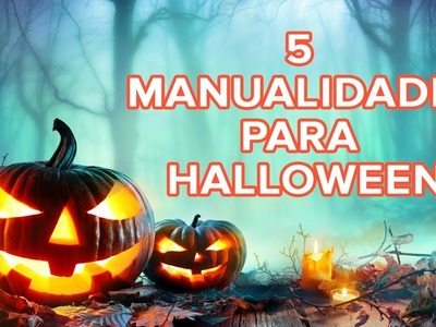 5 manualidades para Halloween divertidas | Manualidades infantiles