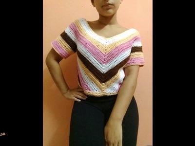 Aclaraciones de Remera  A Crochet