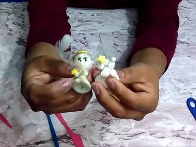 ANGELITOS PARA DENARIO Y LLAVERO