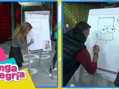 Aprendamos a dibujar a Bart Simpson