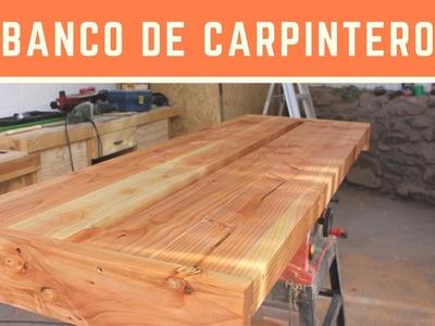 Banco de Carpintero - parte 1 - la tapa