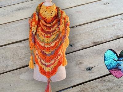 Chal otoño tejido a crochet precioso ! Escoge el proximo video!