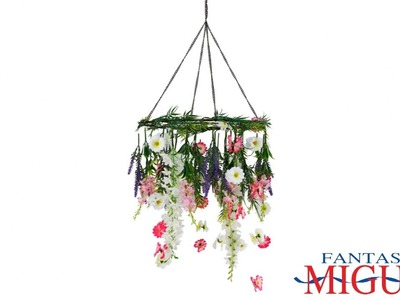 Colgante De Flores Para Fiestas