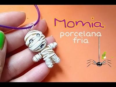 Collar momia PORCELANA FRIA. COLD PORCELAIN