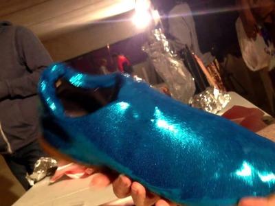 Como forrar zapatos de hombre