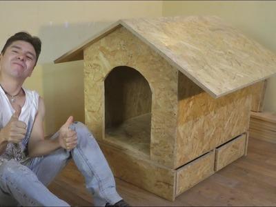 COMO HACER CASA DE PERRO FACIL (Construccion) - Luis Lovon