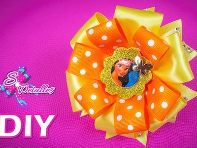 Como hacer lazos: Lazos de Cintas Multicolor #3   Video# 53   SDetalles   DIY