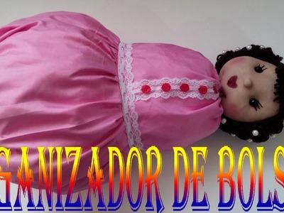 COMO HACER ORGANIZADOR DE BOLSA PLASTICA