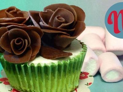 Cómo hacer rosas de chocolate | Decora tus postres