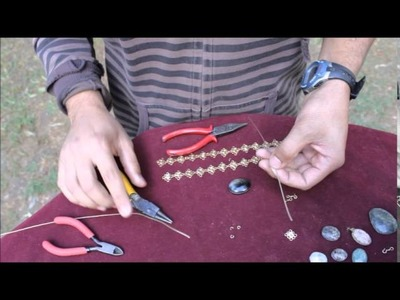 Como hacer un collar de alambre