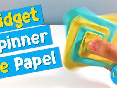 COMO HACER UN FIDGET SPINNER DE PAPEL | DIY