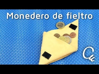 Cómo hacer un monedero de fieltro en muy pocos pasos | facilisimo.com