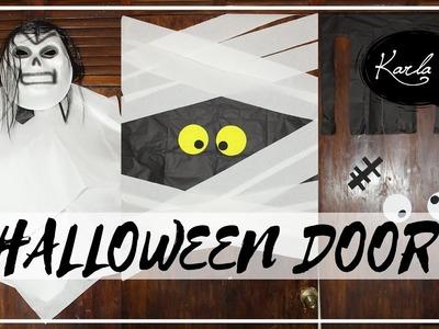 Decora tu puerta para Halloween. Día de muertos MUY FÁCIL!! | #FemLife :)