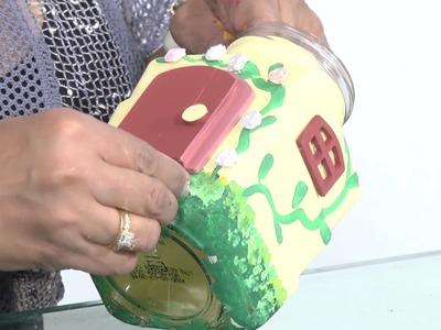 Decoración de frascos de vidrio en country (parte 2) EL MUNDO MAGICO DE ANABEL