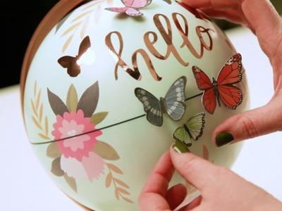 Decoración de globo terráqueo de Globe Gallery de American Crafts